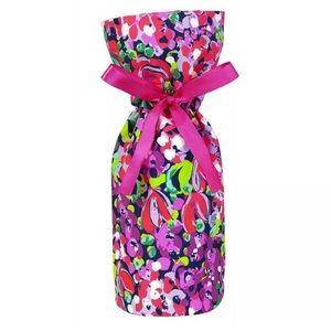 Lilly Pulitzer Wild Confetti Wine Tote Floral Bag